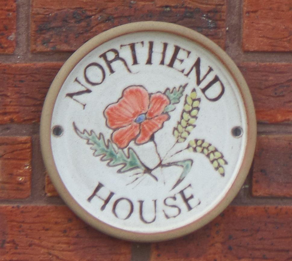 Northend House (alternative plaque)